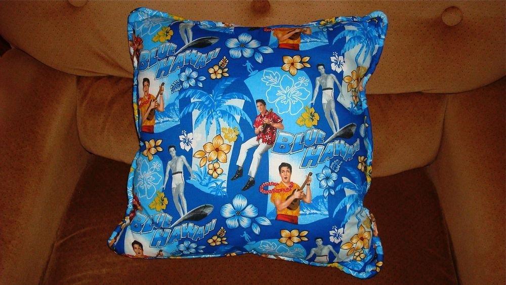 ELVIS BLUE HAWAII PILLOW