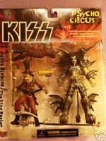 KISS PSYCHO-CIRCUS FIGURES SET OF 4 SEALED !