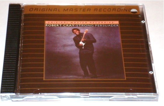 ROBERT CRAY MFSL 24K GOLD CD Strong Persuader - MINT CONDITION