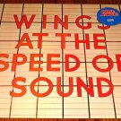 PAUL McCARTNEY WINGS AT THE SPEED OF SOUND LP  1976  IMPORT
