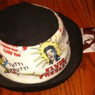 ELVIS PRSLEY ENTERPRISE BLACK & WHITE CREW HAT 1956 COPYRIGHT WITH TAG