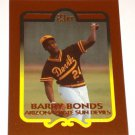 BARRY BONDS 23K GOLD BASEBALL TRADING CARD LIMITED EDITION 2853 OF 10,000