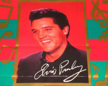 ELVIS HOLDAY GIF BAG CARLTON CARDS 1995 BRAND NEW!