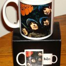 THE BEATLES RUBBER SOUL COFFEE MUG New In Box!