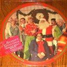 DARYL HALL & JOHN OATES SEASONS GREETINGS PICTURE DISC PROMO LP