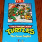 TEENAGE MUTAT NINJA TURTLES VHS THE GREAT BOLDINI