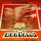 ZZ TOP DEGUELLO ORIGINAL LP WITH INSERTS  1979