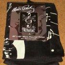 """ELVIS PRESLEY 45"""" X 60"""" FLEECE THROW BLANKET BRAND NEW!"""