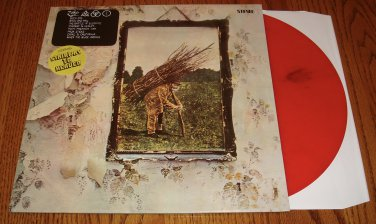 LED ZEPPELIN IV RED COLORED VINYL LP
