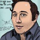David Berkowitz  Son Of Sam serial killer  Amaral Cartoons Poster