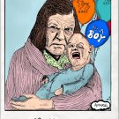 Goonies Mama Fratelli and Sloth Polaroid   Amaral Cartoons Poster