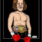 Rocky Dennis  Amaral Cartoons Poster 80's