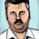 John Wayne Gacy Serial Killer Amaral Cartoons Poster
