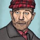 Ed Gein Serial Killer Amaral Cartoons Poster