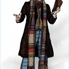 Dr. Who Fourth Doctor Amaral Cartoons Poster