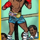 Clubber Lang  Mr. T  Amaral Cartoons Poster