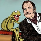 Vincent Price and Kermit the Frog Amaral Cartoons Poster