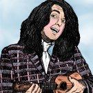 Tiny Tim  Amaral Cartoons Poster