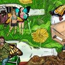 Hobo Camp Fairies Amaral Cartoons Poster