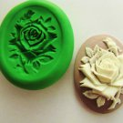Polymer clay Flower Cameo Mold Professional non flexible polymer clay mold 1pc