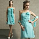 ANSD8065  Free Shipping New Bridesmaid Wedding Gown Prom Ball Evening Dress Size 6-8-10-12-14