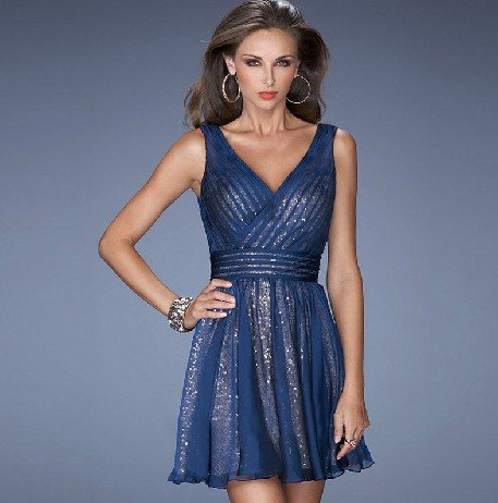 ANSD8074  Free Shipping New Bridesmaid Wedding Gown Prom Ball Evening Dress Size 6-8-10-12-14
