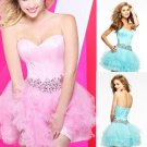 ANFT8015  Free Shipping New Bridesmaid Wedding Gown Prom Ball Evening Dress Size 6-8-10-12-14