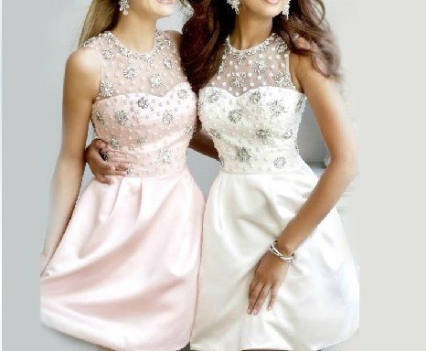 ANFT1050  Free Shipping New Bridesmaid Wedding Gown Prom Ball Evening Dress Size 6-8-10-12-14