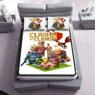 clash of clans queen size fleece blanket and 2 pillowcases 71306786,71229125(2) best for gift