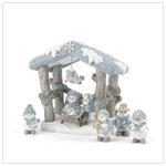 Snow Buddies Nativity Set