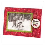 """Jingle All The Way"" Photo Frame Greeting Card"