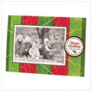 """Happy Holidays"" Photo Frame Greeting Card"