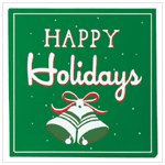'Happy Holidays' Sign