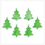 Green Christmas Tree Ornaments