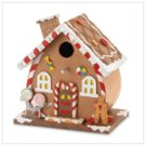 Wooden Gingerbread Birdhouse