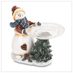 Snowman Plate Holder