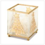 Square Christmas Tree Candleholder