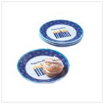 Hanukkah Dessert Plates