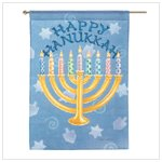 Impressions Happy Hanukkah Flag