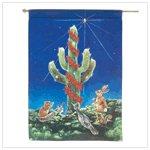 Saguaro Night Light Flag
