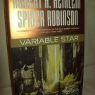 Variable Star. Robert A. Heinlein/Spider Robinson, authors. 1st Edition. NF/NF
