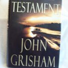 The Testament. John Grisham, author. 1st Edition, 1st Printing. NF/F