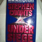 Under Siege. Stephen Coonts, author. 1st Edition, 1st Printing. NF/NF