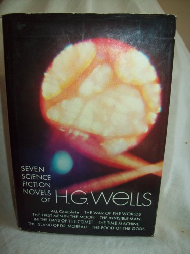 Seven Science Fiction Novels of H. G. Wells. H. G. Wells, author. Dover Publications, VG/VG