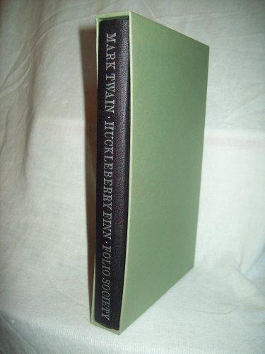 Huckleberry Finn. Mark Twain, author. Folio Society Boxed Edition. Near Fine