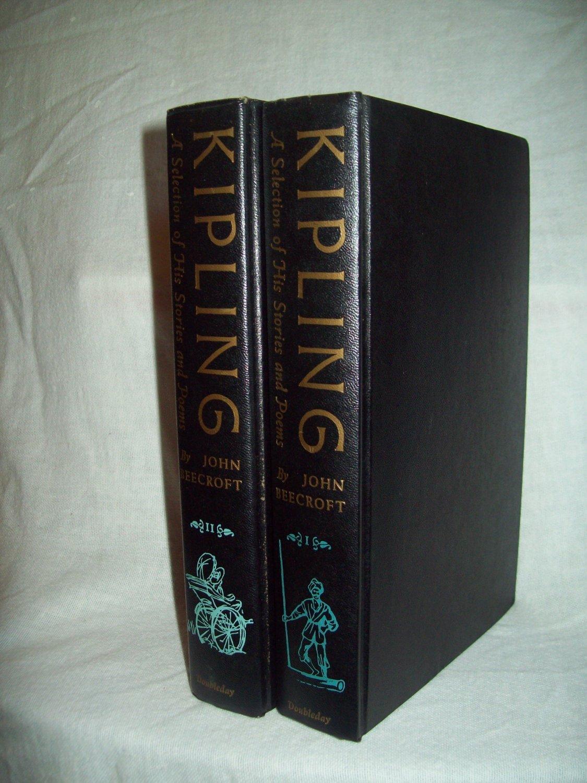 Kipling. Edited by John Beecroft. Two-volume illustrated set. VG+