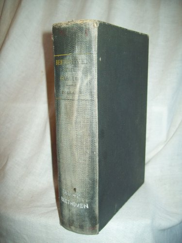 Beethoven The Creator. Romain Rolland, author. 1st edition. Ex-lib. VG-