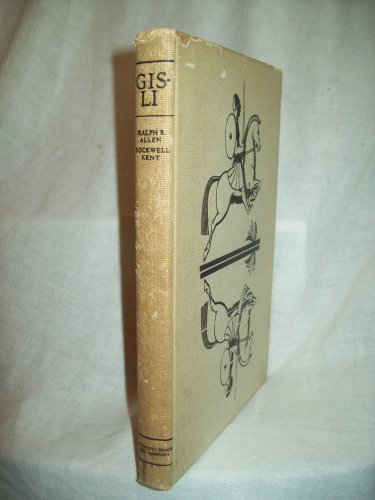 Gisli. Ralph B. Allen, translator. First Edition. VG-
