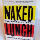 Naked Lunch, The Restored Text. William S. Burroughs, author. Oversized PPB. VG-