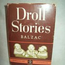 Droll Stories. Honore De Balzac, author. Modern Library edition. VG+/VG
